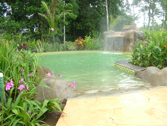"Natural Mineral ""Green"" Hot Springs"