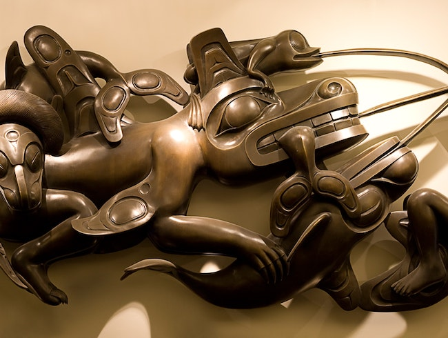 Bill Reid Gallery: First Nations Dazzling Enchantment