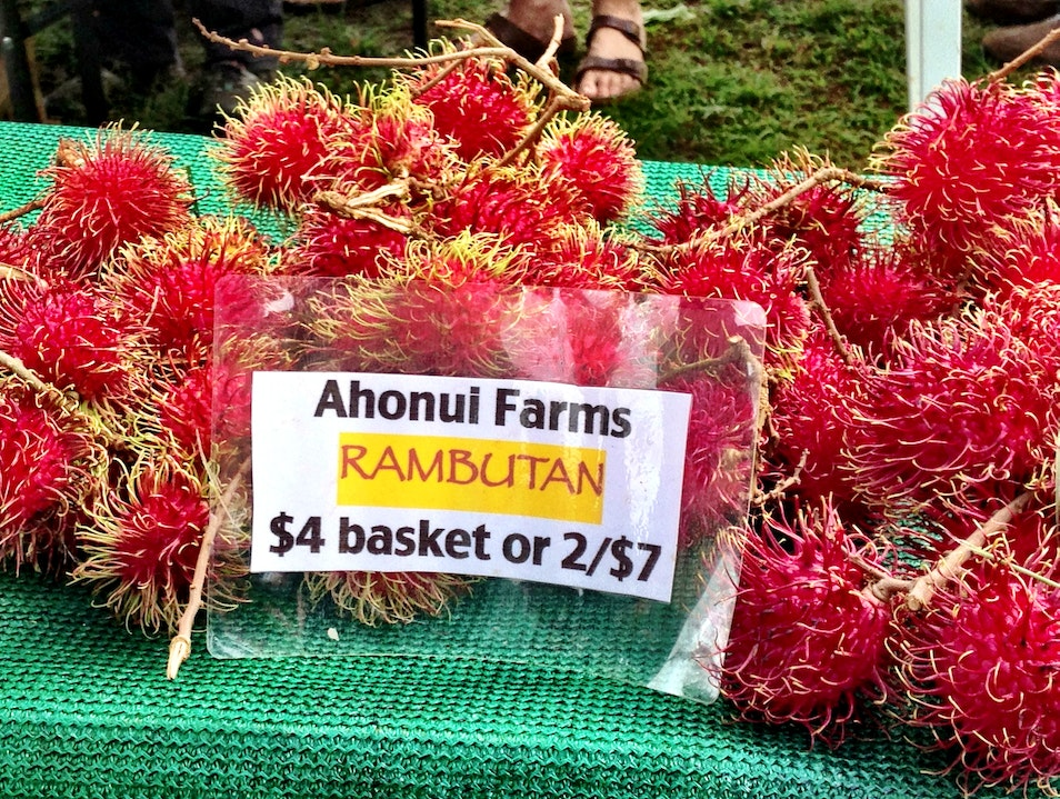 Check Out the Rambutan Hanalei Hawaii United States