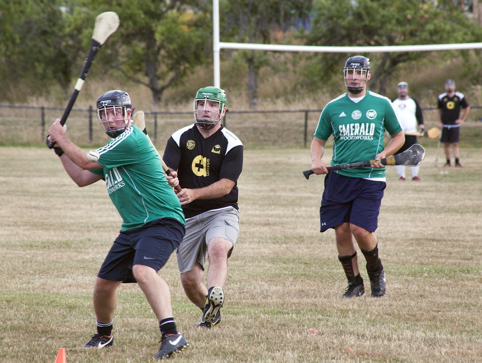 Hurling with the Seattle Gaels Seattle Washington United States