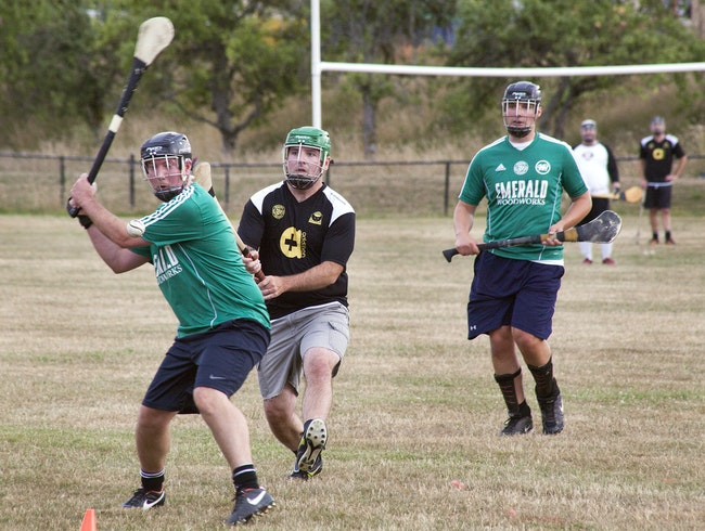 Hurling with the Seattle Gaels