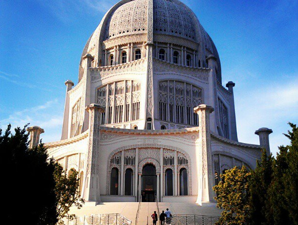 A Perfect Octagon — The Baha'i Wilmette Illinois United States