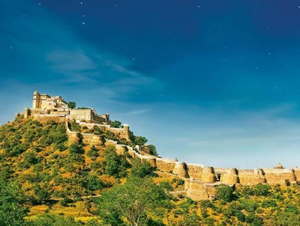 Second Largest Wall of World  Qila Kumbhalgarh  India