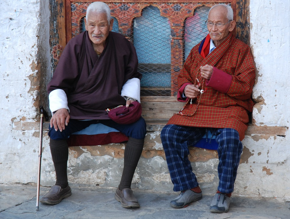 Changangkha Lhakhang Wise Men Thimphu  Bhutan