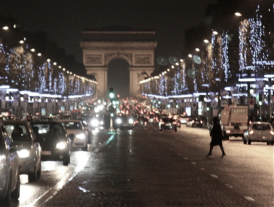 A romantic night in the City of Light Paris  France