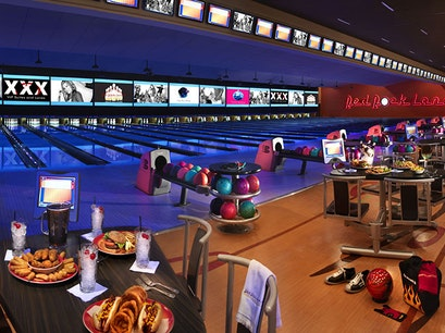 Red Rock Bowling Alley Las Vegas Nevada United States