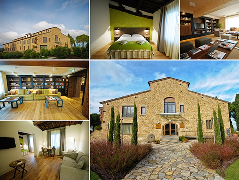 Stay in a Chic Boutique Hotel in a Former Tobacco Factory in Tuscany Castelfalfi  Italy