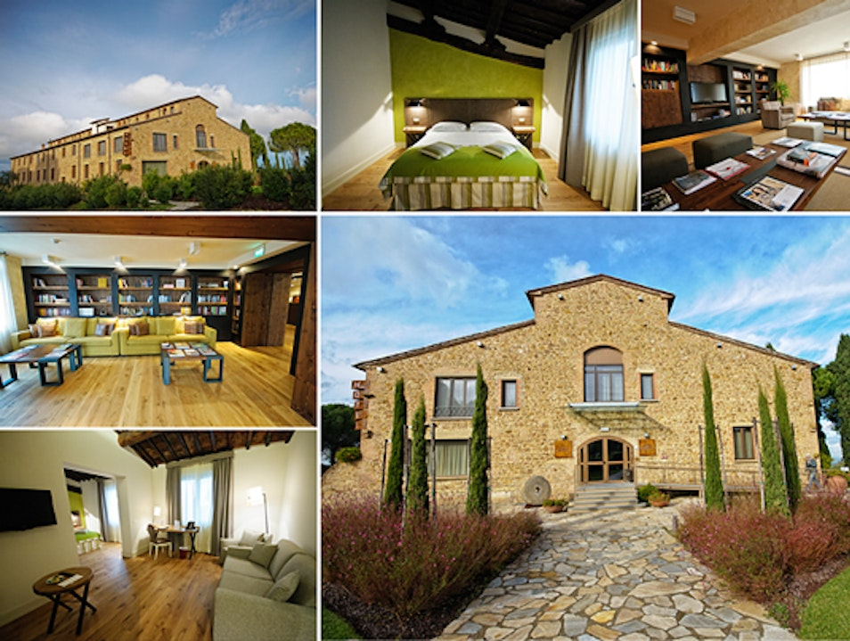 Stay in a Chic Boutique Hotel in a Former Tobacco Factory in Tuscany Montaione  Italy