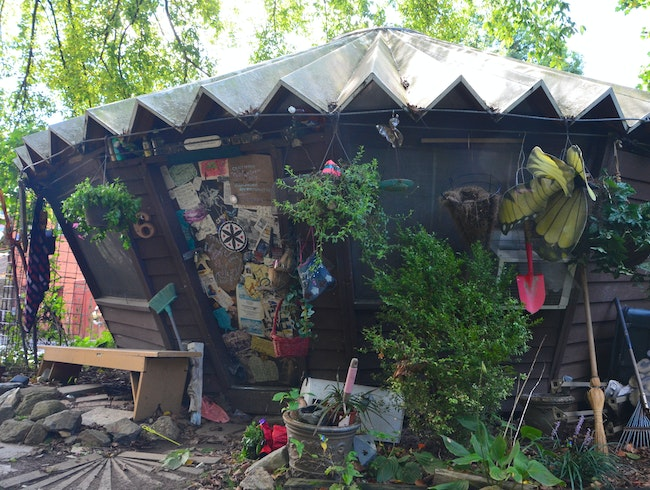 Yurts and Art in the Park