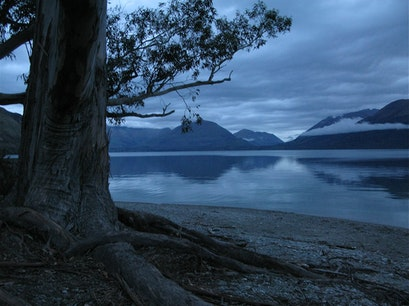 Lake Te Anau Te Anau  New Zealand