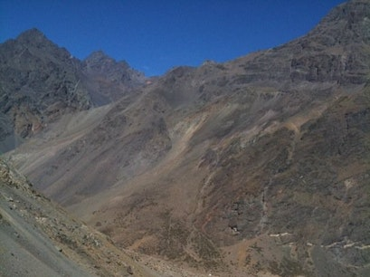 Switchbacks Los Andes  Chile