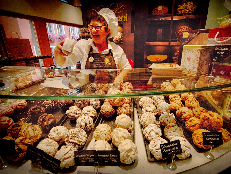 Schneeballen - Sweet Treat in Rothenburg ob der TauberT Rothenburg ob der Tauber  Germany