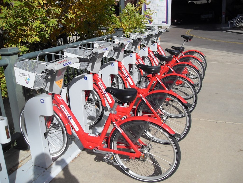 Discover Denver by B-Cycle Denver Colorado United States