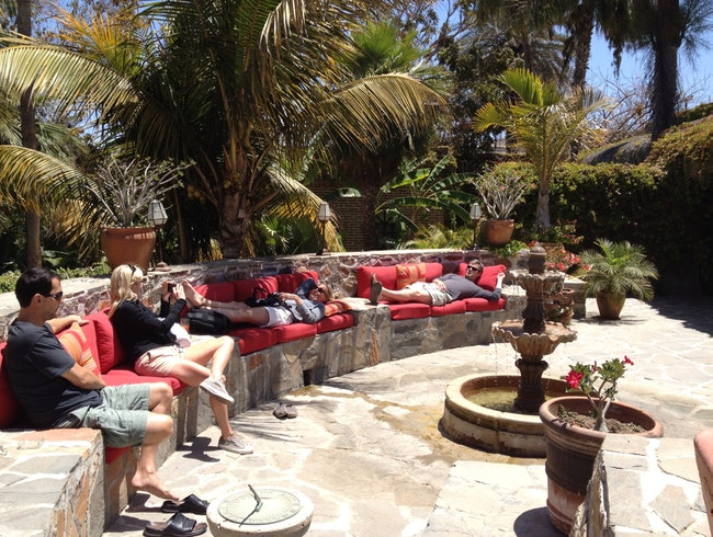"Breakfast And Chill At Todos Santos Inn's ""Landi's"""