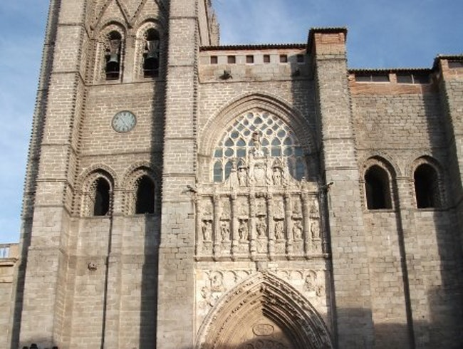 Fortress Cathedral in Avila, Spain