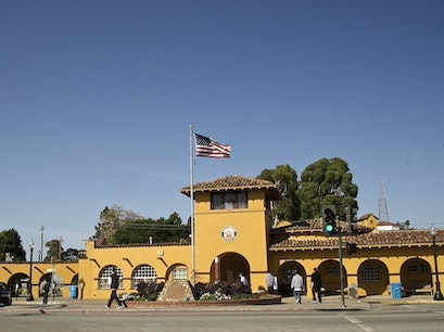 Burlingame Caltrain Station Burlingame California United States