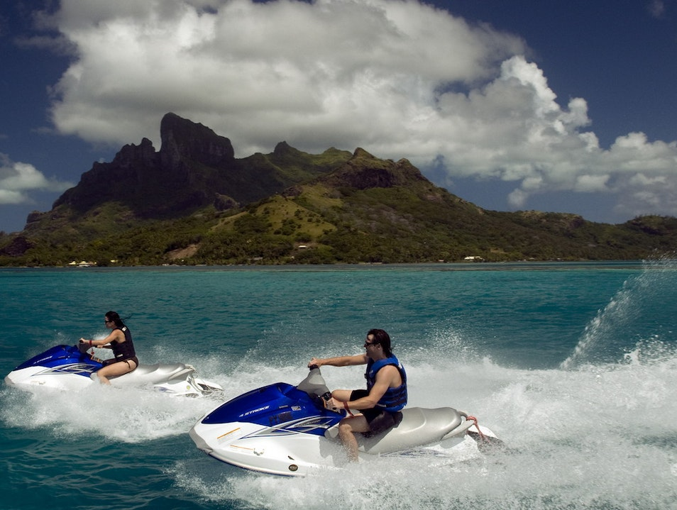 Jet Ski and Jetboat Excursions Vaitape  French Polynesia