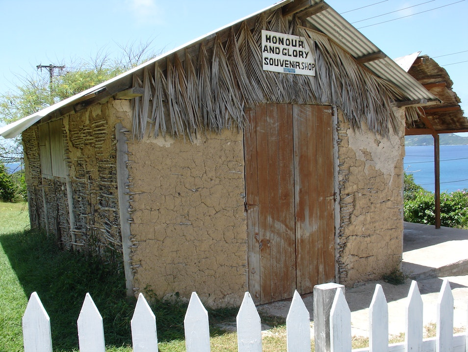 The Only Souvenir Shop on Mayreau Grenadines  Saint Vincent and the Grenadines
