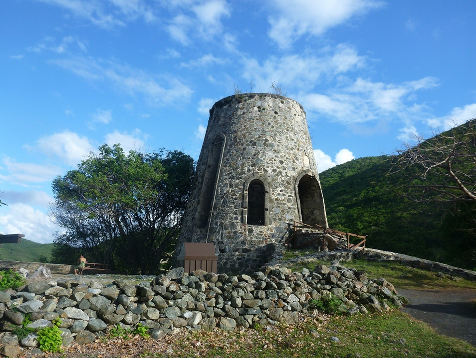 Step Back into the Past at Annaberg Plantation Ruins Central  United States Virgin Islands