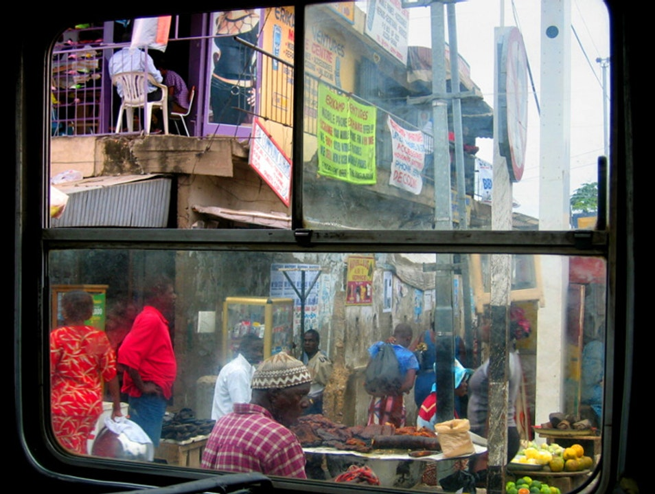 Window Shopping in Africa Accra  Ghana