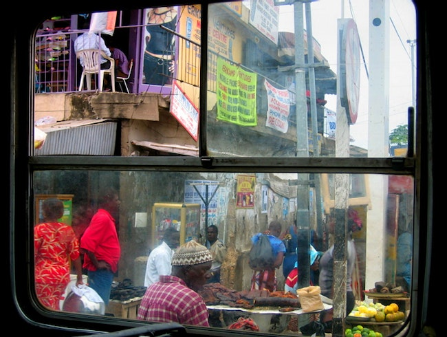 Window Shopping in Africa
