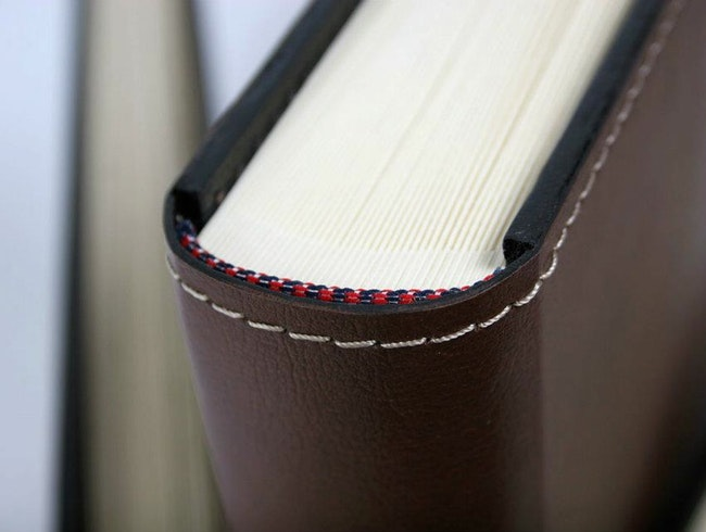 Handmade Leather-Bound Notebooks and Gifts