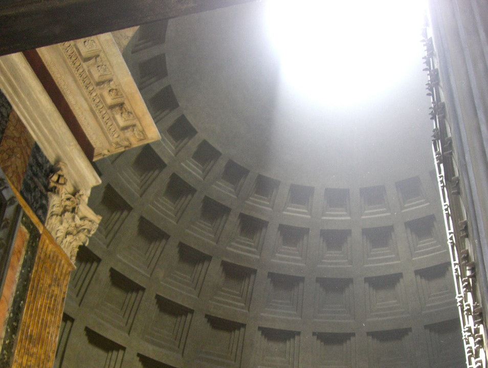 See the Light—Roman Pantheon Rome  Italy