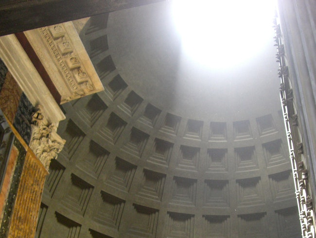 See the Light—Roman Pantheon