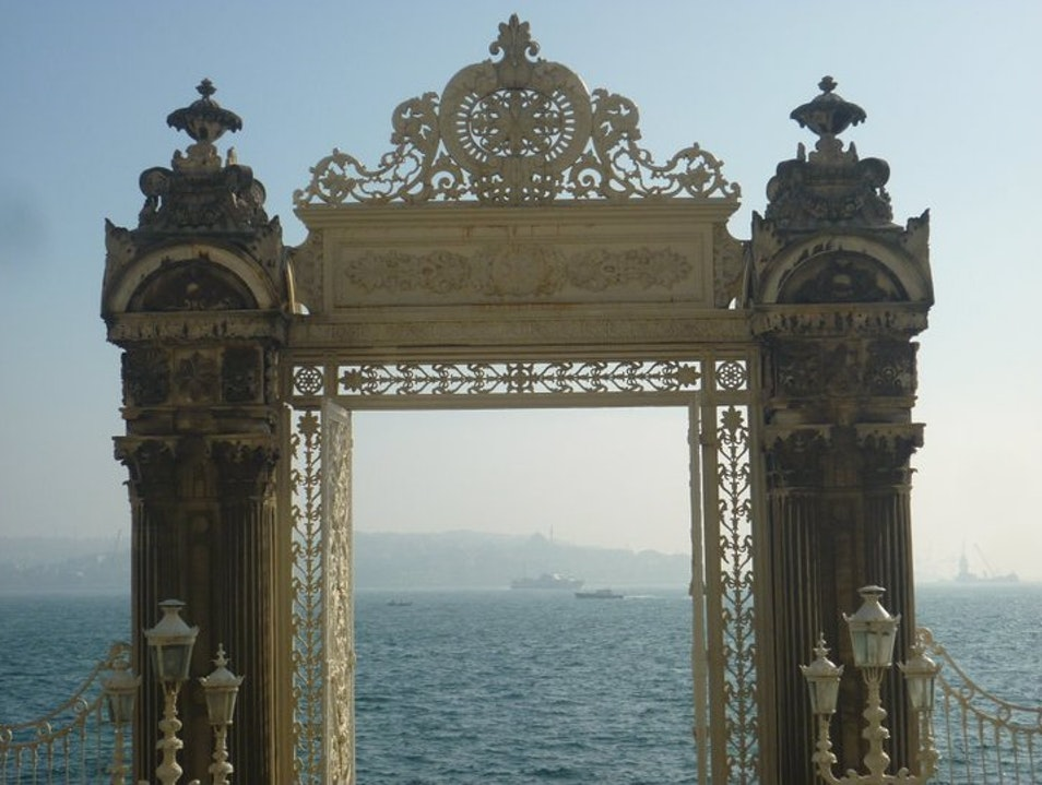 Gateway to the Bosphorus Istanbul  Turkey