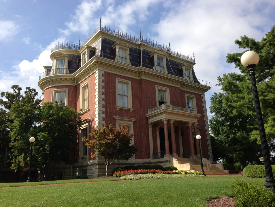 Tour a prisoner-built 19th century mansion Jefferson City Missouri United States
