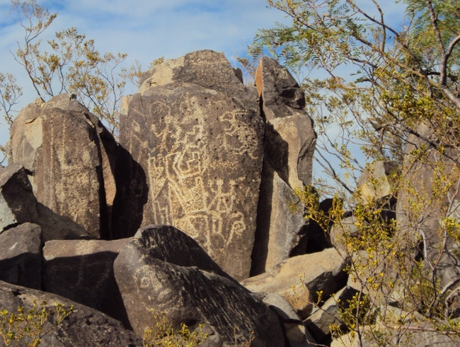 Top Rock Art Spot in New Mexico