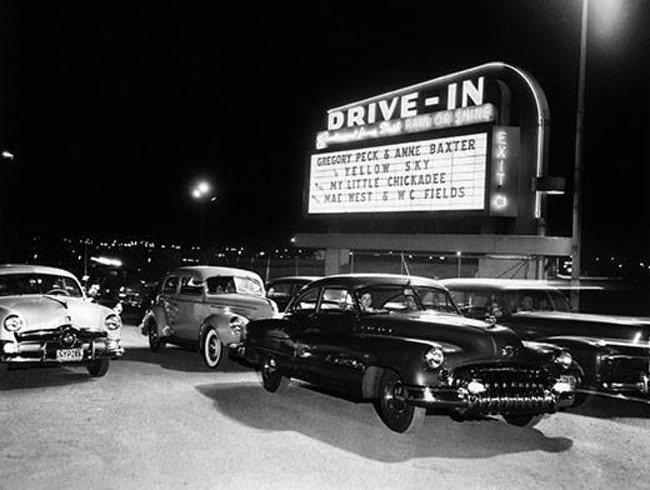 Vintage Drive-In Movie Theater Debuts in Wynwood