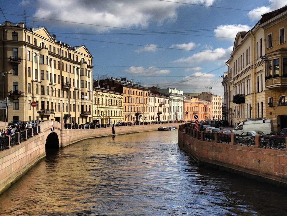 The Venice of the North... St Petersburg  Russia