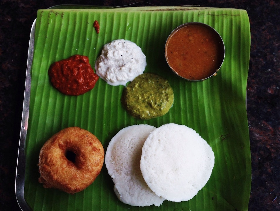 South Indian Breakfast of Champions Chennai  India