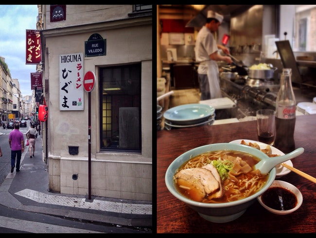 "Ramen? Lamen? Just say ""Higuma"" for noodles in Paris"