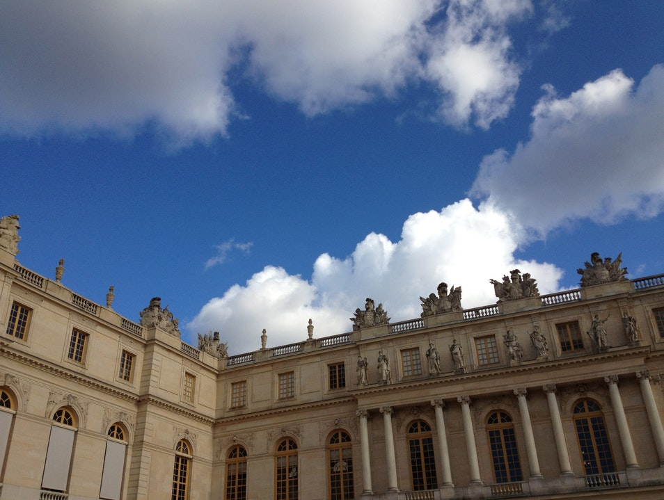 Behind Palace Gates in Versailles