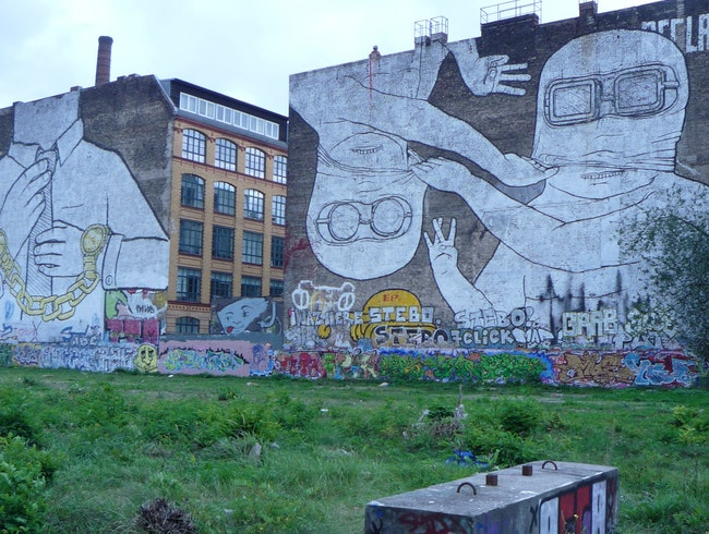 Art-Speckled Streets of Berlin's Hippest 'Hood