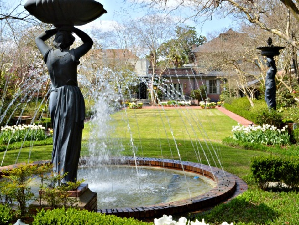 Stunning Gardens and a Sip of Coca-Cola History Monroe Louisiana United States