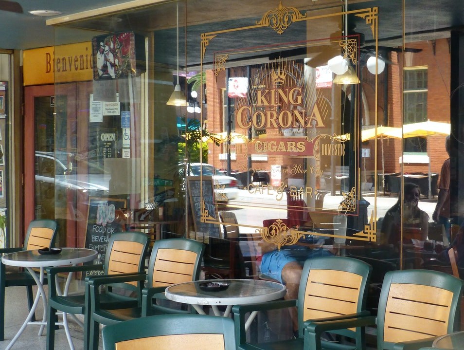 Coffee, Cuban Sandwiches, and Cigars Tampa Florida United States