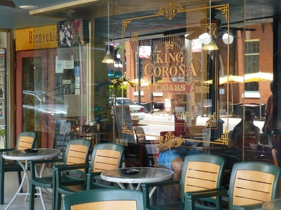 KING CORONA CIGARS CAFE AND BAR Tampa Florida United States
