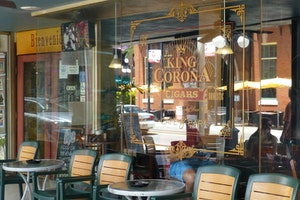 KING CORONA CIGARS CAFE AND BAR