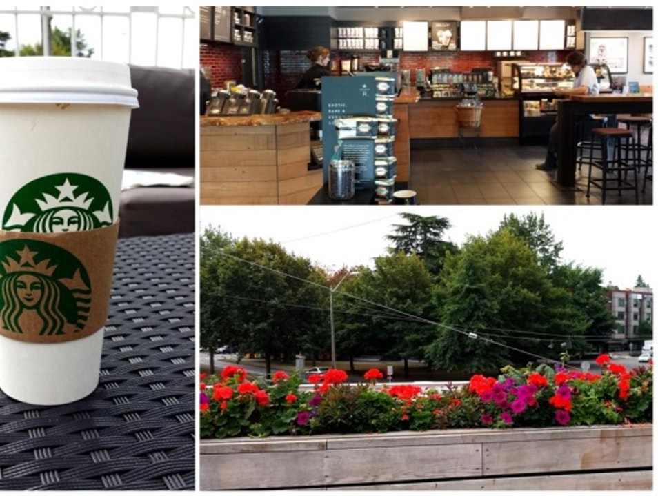 A Cup of Joe, Fresh Air & Outdoor Seating Seattle Washington United States