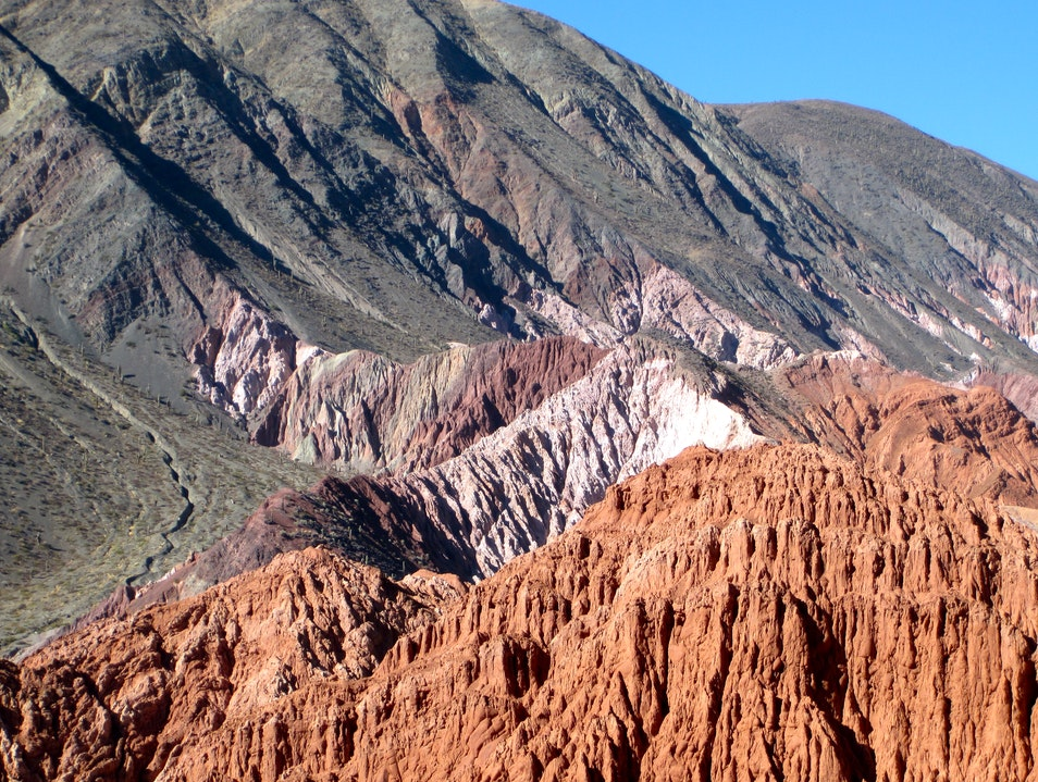 Hiking Through Seven Colors Purmamarca  Argentina