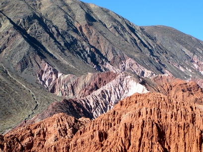 Mountain Of Seven Colors Purmamarca  Argentina