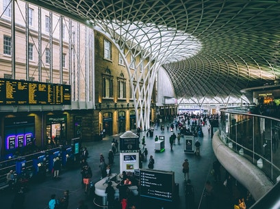 King's Cross Station London  United Kingdom