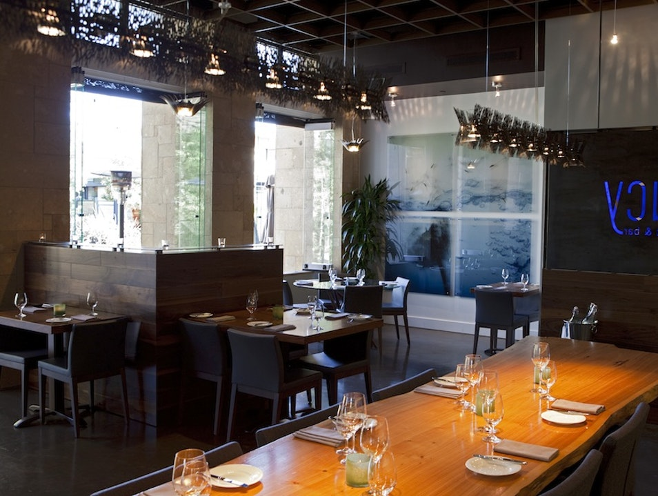 Lucy Bar + Restaurant at Bardessono Yountville California United States