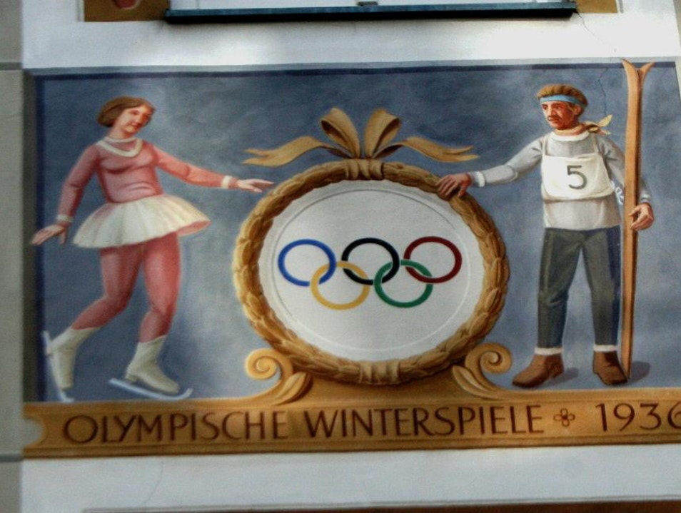 GAP's 1936 Winter Olympics Garmisch-Partenkirchen  Germany