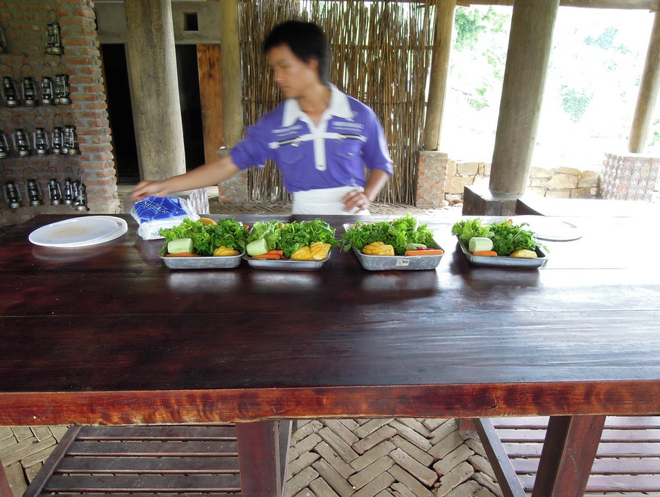 Learning to cook in Sapa, Vietnam
