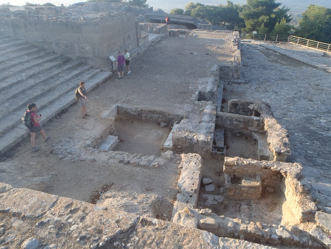 The Lesser-Traveled Phaistos Archaelogical Site