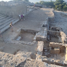 Phaistos Archaelogical Site